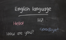 View our English Learning page