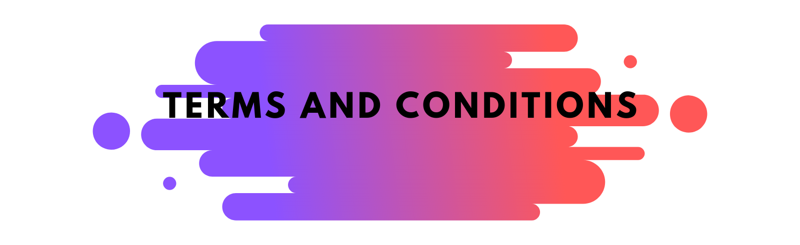 Terms and Conditions Page Banner